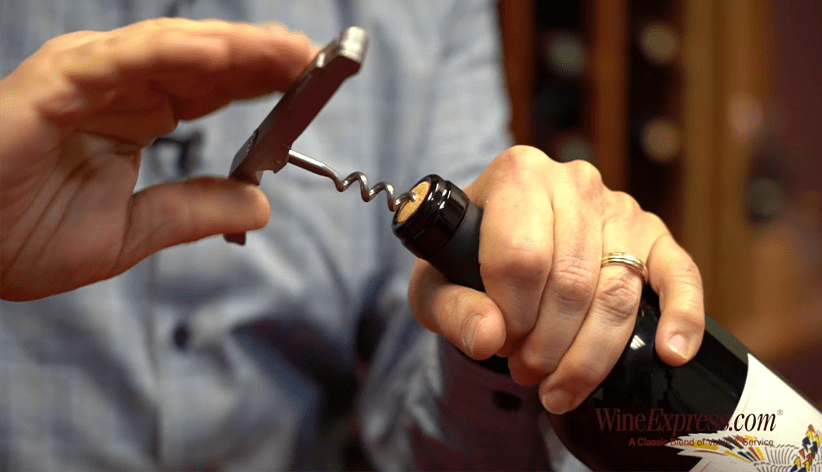 How to use a corkscrew