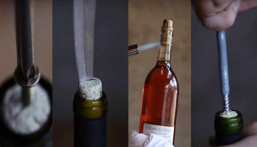 How To Open A Wine Bottle Without A Bottle Opener?