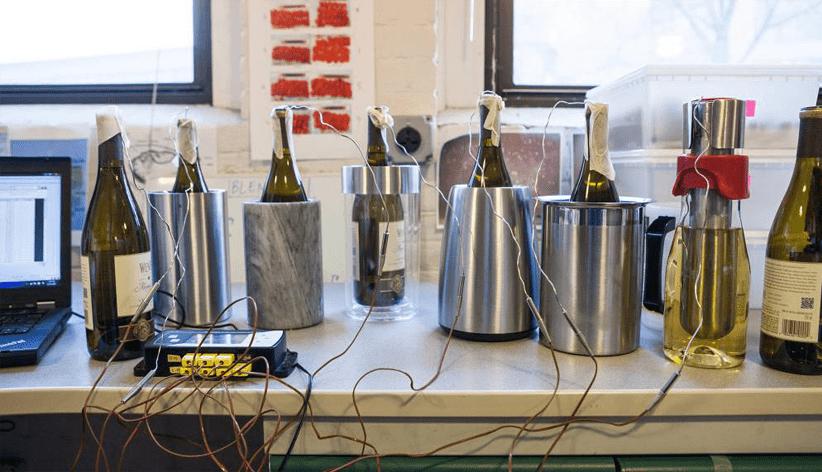 how to make a wine cooler colder